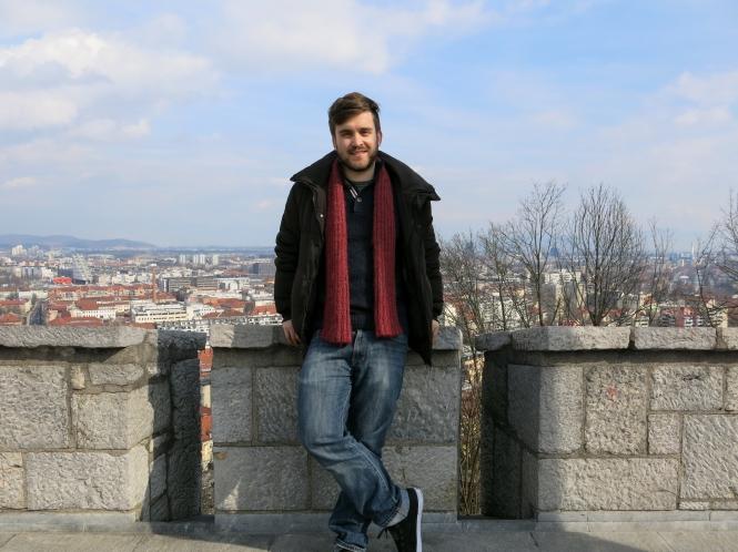Me in Ljubljana, Slovenia